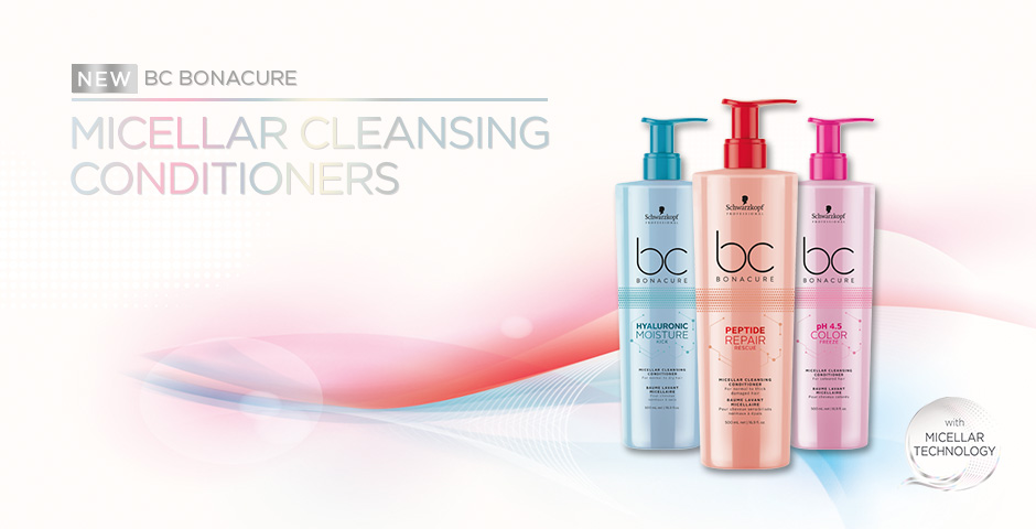 BC Micellar Cleansing Conditioners