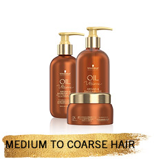 Medium to Coarse Hair